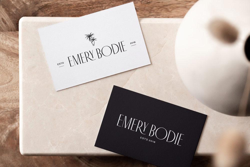 Emery Bodie branding